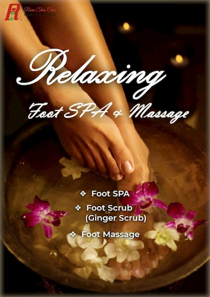 Relaxing Foot SPA & Massage